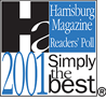 2001 Simply The Best Pet Groomer - Harrisburg Magazine
