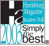 2003 Simply The Best Pet Groomer - Harrisburg Magazine