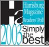 2003 Simply The Best Pet Groomer - Harrisburg Magazine