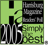 2005 Simply The Best Pet Groomer - Harrisburg Magazine