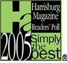 2005 Simply The Best Pet Groomer - Harrisburg Magazine