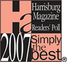 2007 Simply The Best Pet Groomer - Harrisburg Magazine