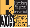 2014 Simply The Best Pet Groomer - Harrisburg Magazine