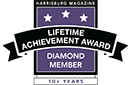 Harrisburg Magazine Lifetime Achievement - Diamond Member